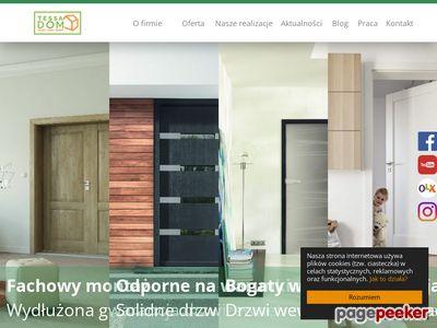 Szeroki wybór trwałych i estetycznych drzwi