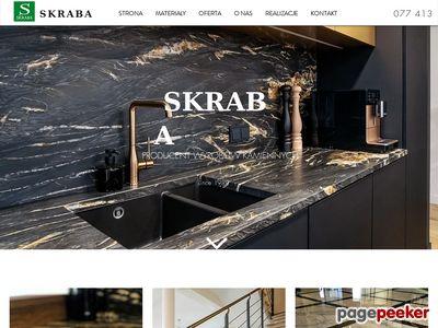 www.skraba-granity.pl schody granitowe Opole