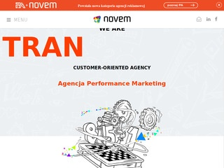 Agencja performance marketing | Novem