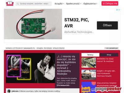 nakanapie.pl - społeczność miłośników książki
