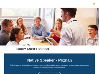 Native Speaker English | Angielski Poznań