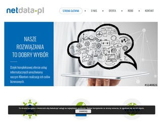 NETDATA | strony internetowe, outsourcing IT