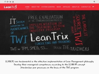 LeanTrix - Training Within Industry TWI i Lean Management