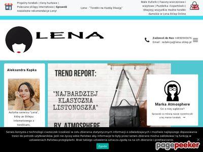 Sklep dla puszystych Lena Moda Damska