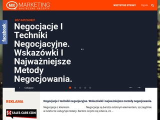 Marketing mix - strony internetowe