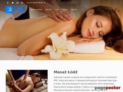 Masaż leczniczy Łódź