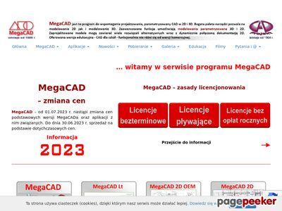 CAD dla mechaników : megacad.pl