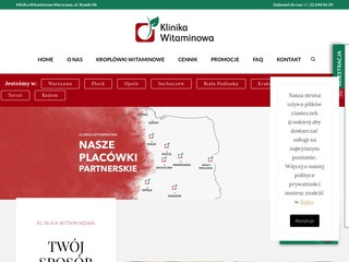 Klinikawitaminowa.pl Terapia witaminowa