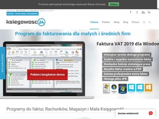 Ksiegowosc24.pl - Program do faktur