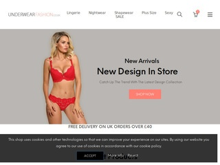 Underwear, Lingerie, Nightwear, Shapewear, Hosiery - Underwear Fashion Shop