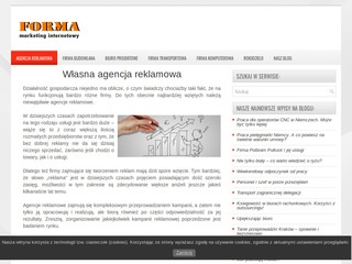 Forma Marketing: Strony www, design, marketing