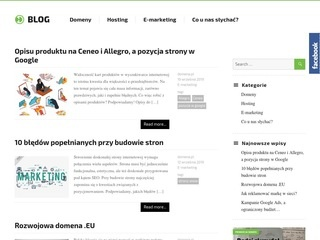 Domena.pl - blog