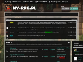 RPG Center - online