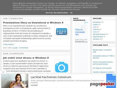 Blog komputerowy