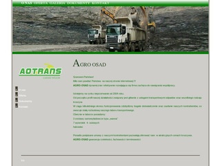 AGRO OSAD trensport