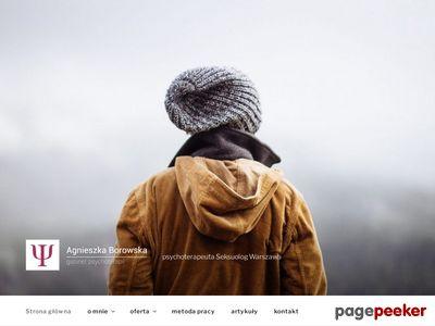 Agnieszka Borowska Psychoanalityk Warszawa