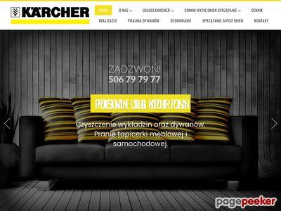 Pranie tapicerki Karcher Poznań