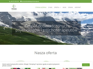 Psycholog, Widoki - Twoja Psychoterapia