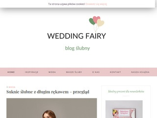 Wedding Fairy blog ślubny