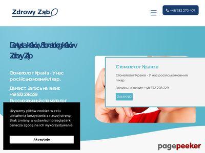 Leczenie zębów Kraków