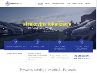 Tani parking w Pyrzowicach