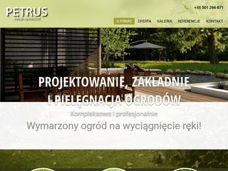 Www.petrus-ogrodnictwo.pl