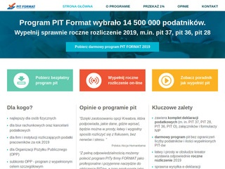 Program www.pitformat.pl - PIT 2019