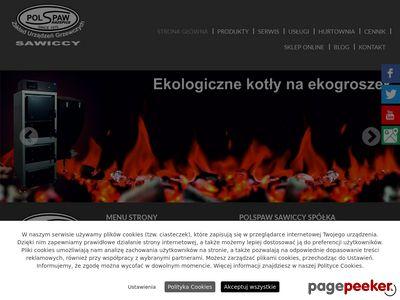 Piece, kotły c.o. - PolSpaw Sawiccy Spółka Jawna