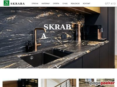 www.skraba-granity.pl nagrobki
