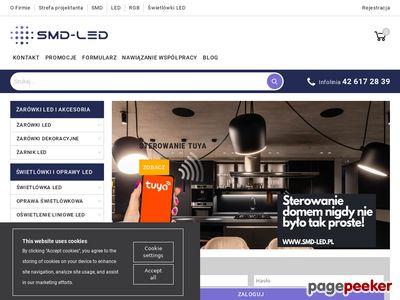 Sprzedaż hurtowa i detaliczna oświetlenia LED