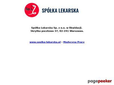 Spółka Lekarska Spółka z o.o. usg naczyniowe warszawa
