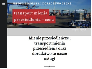 SPED-LOGISTIC