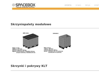 palety | http://www.spacebox.pl