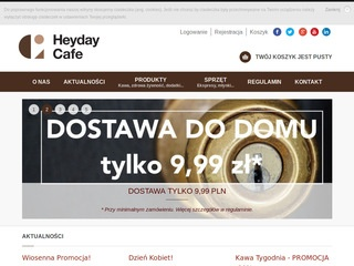 Heyday Cafe :: Ekspres do kawy, kawa do biura