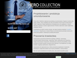 HERO COLLECTION ubiory służbowe