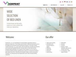 Korprint - producent tkanin