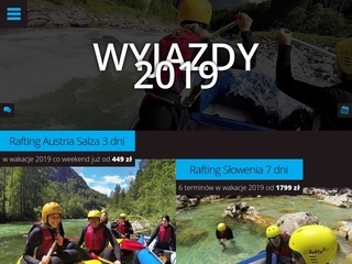 Rafting, canyoning, hydrospeed!