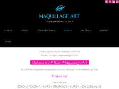Szkoła Wizażu Maquillage Art kurs wizażu rzeszów