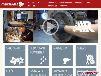 machAIR - Sprężarki | Kompresory | Generatory