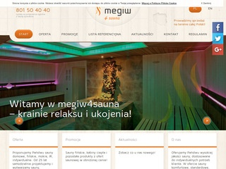 Producent saun Megiw