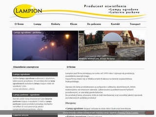 Lampy ogrodowe Producent Lampion