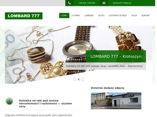 LOMBARD 777 skup agd