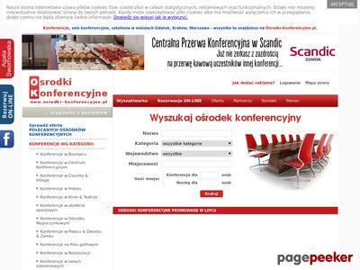 Ośrodki-Konferencyjne.pl - konferencje, sale konferencyjne, szkolenia, hotele, spa.