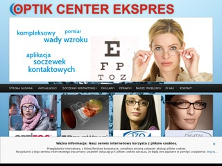 OPTIK CENTER EKSPRES wada wzroku