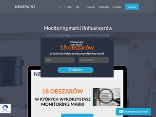 NewsPoint - Monitoring Mediów - Social Media Monitoring
