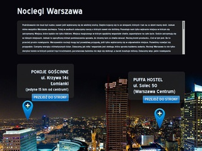 Noclegi Warszawa