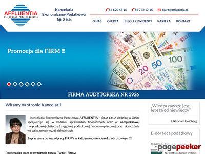 Affluentia Gdynia - biuro rachunkowe