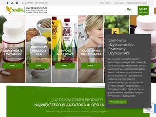 Produkty aloesowe Forever Living Products
