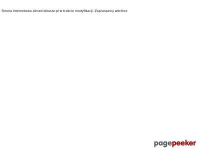 ALMED - Lekarze specjaliści i odtrucia poalkoholowe