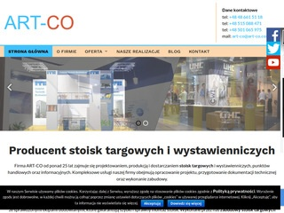 ART-CO stoiska targowe